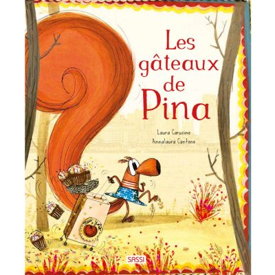 Livre Les gâteaux de Pina à New York Sassi Junior
