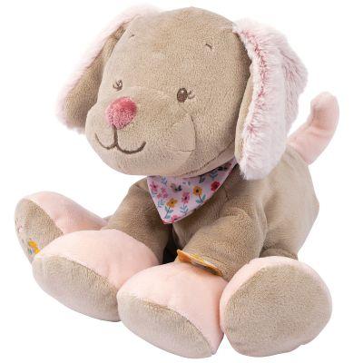 Peluche chien Lali (22 cm)  par Nattou