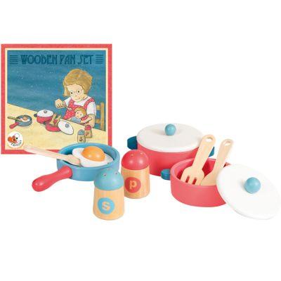 Ustensiles de cuisine en bois Egmont Toys