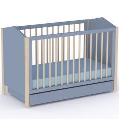 Lit bébé évolutif Ninon Nuit (60 x 120 cm)