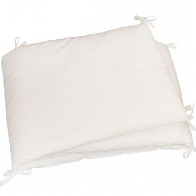 tour de lit blanc pour lit 60 x 120 cm luciole et cie. Black Bedroom Furniture Sets. Home Design Ideas