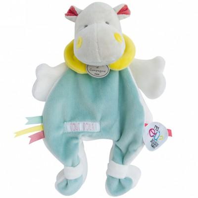 Doudou plat Tatoo cape hippo (25 cm) Doudou et Compagnie