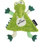 Doudou plat Aligatos l'Alligator (25 cm) - Les Déglingos