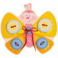Jeu de laçage Papillon
