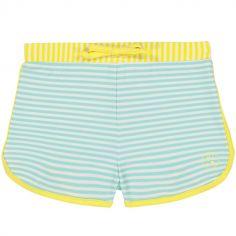 Maillot de bain short anti-UV Screech stripe (12 mois)