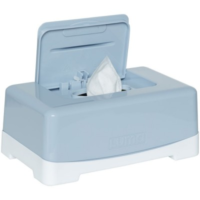 Boîte à lingettes bleu céleste  par Luma Babycare