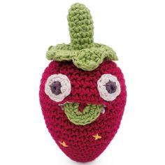Hochet Blaise la mini fraise (10 cm)
