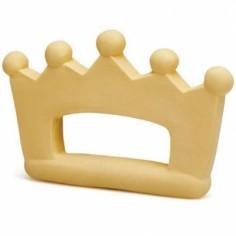 Anneau de dentition latex d'hévéa couronne jaune