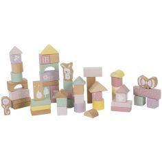 Blocs de construction Adventure pink (50 pièces)