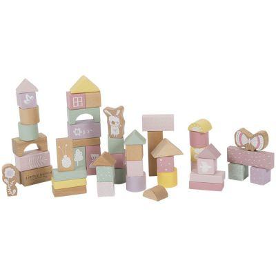 Blocs de construction Adventure pink (50 pièces)  par Little Dutch