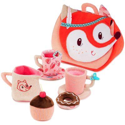 Valisette service à thé Tea time Alice la renarde  par Lilliputiens