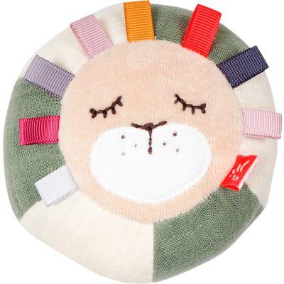 Balle d'activités Lion en coton bio  par Kikadu