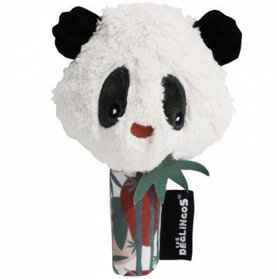 Hochet miroir Rototos le panda (18,5 cm)  par Les Déglingos