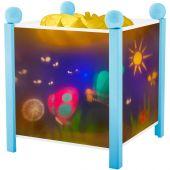 Lanterne magique ''Papillons'' bleu - Trousselier