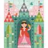 Puzzle princesse dans le château (64 pièces)  - Petit Collage
