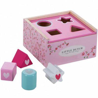 Boîte à formes Pink Blossom  par Little Dutch