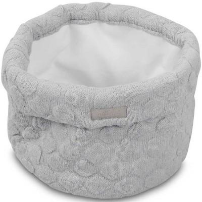 Panier de toilette Fancy knit gris