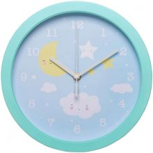Horloge nuage  par A Little Lovely Company
