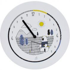 Horloge Formidable éducative Ours et ses 20 aimants