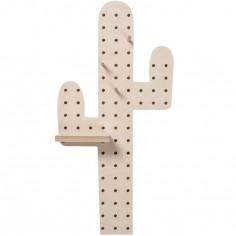 Panneau perforé pegboard cactus