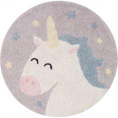 Tapis rond licorne Believe in Yourself Mr. Wonderful (100 cm)