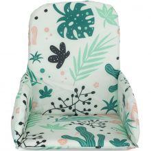 Coussin chaise haute Leaves  par Jollein