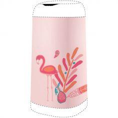 Housse décorative poubelle Dress Up Flamant rose