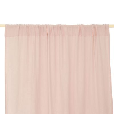 Rideau Utopia rose pâle Dream pink (146 x 280 cm)  par Nobodinoz