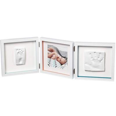 Cadre photo empreinte My Baby Style double essentials  par Baby Art