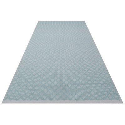 tapis rectangulaire checky vert d 39 eau 70 x 140 cm. Black Bedroom Furniture Sets. Home Design Ideas