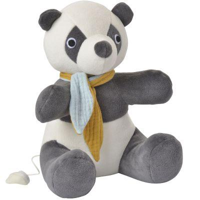 Peluche musicale Panda (22 cm) Kikadu