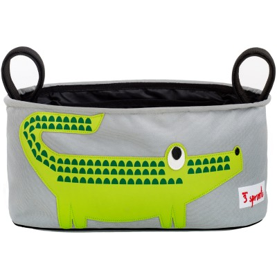 Panier à poussette Crocodile  par 3 sprouts