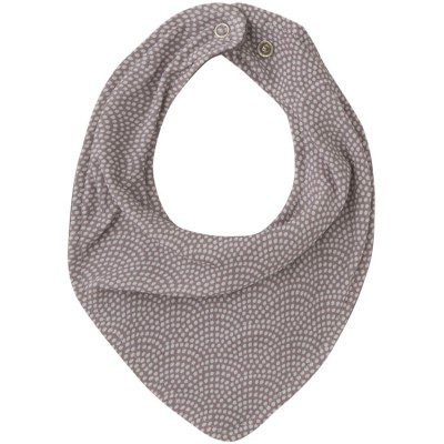 Bavoir bandana Mauve waves  par Little Dutch
