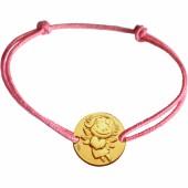 Bracelet cordon enfant Précieuse (or jaune 375°) - La Fée Galipette