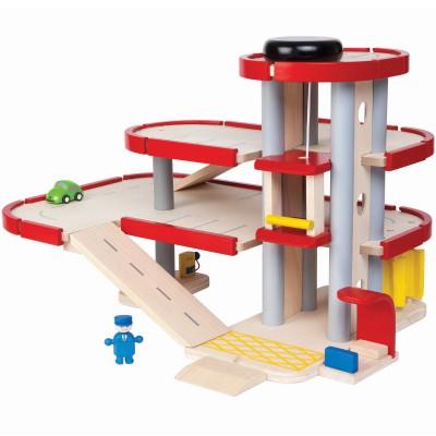 Parking garage  par Plan Toys