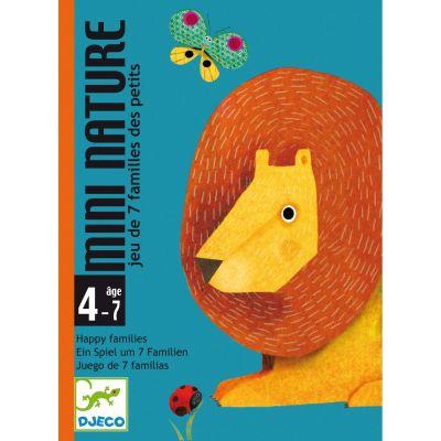 Jeu de cartes 7 familles Mini nature (28 cartes)  par Djeco