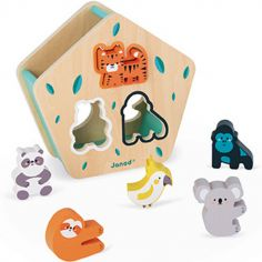 Boîte à formes animaux WWF