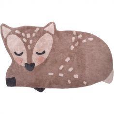 Tapis lavable faon Little deer (70 x 110 cm)