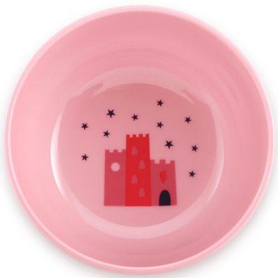 Bol château rose  par Super Petit