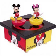 Boîte à Musique magnétique Mickey & Minnie