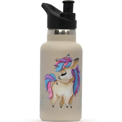Gourde isotherme Licorne embout sport (350 ml)
