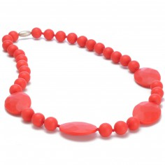 Collier de dentition Perry rouge