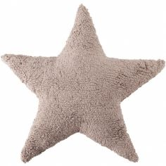 Coussin étoile lin (50 x 50 cm)