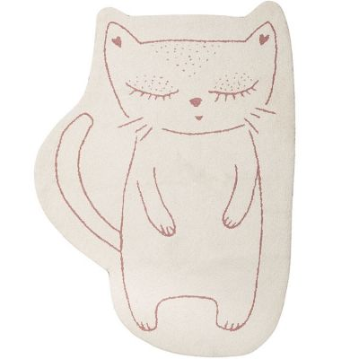 Tapis chat Imagine Minouchka (95 x 125 cm)  par Noukie's