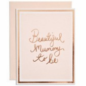 Carte Mummy to Be et son enveloppe - Mamas and Papas