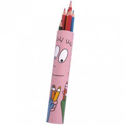 Etui de douze crayons de couleur Barbapapa  par Petit Jour Paris
