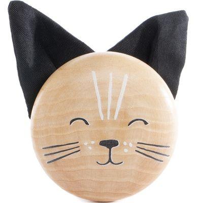 Patère en bois Chat  par Nobodinoz