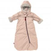 Combinaison pilote sans jambes Troïka T-Zip Tendresse beige claire (0-6 mois) - Red Castle