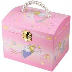 Malle à Bijoux musicale Princesse