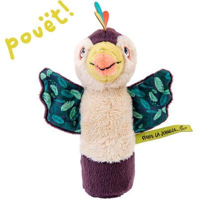 Hochet pouët Pakou le toucan Dans la Jungle (16 cm)  par Moulin Roty